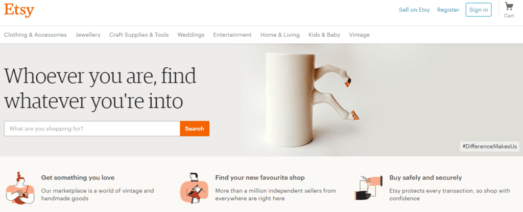 Etsy, work from home as an Introvert