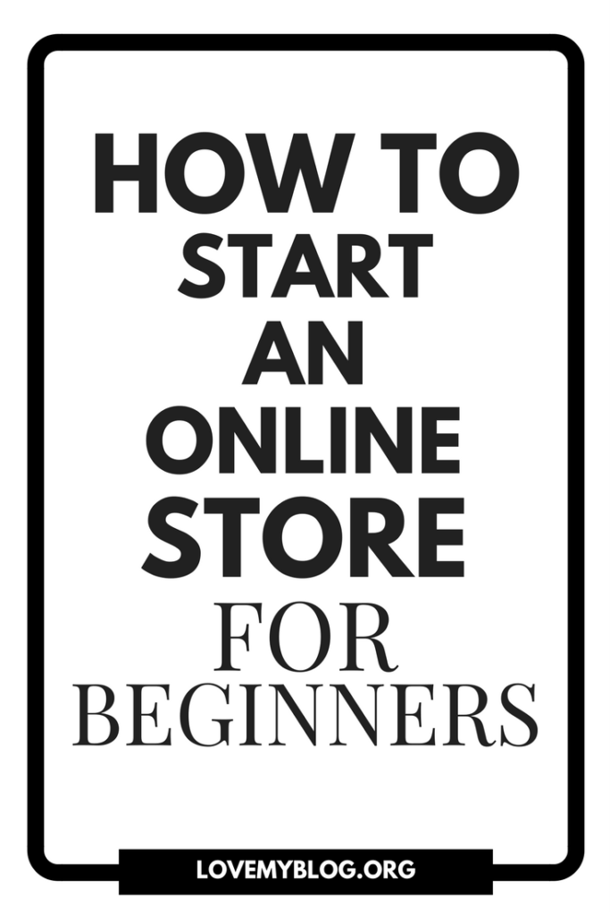 how to start a shopify online store