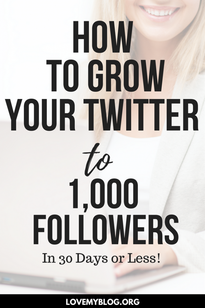 How to Grow Twitter to 1,000 Followers