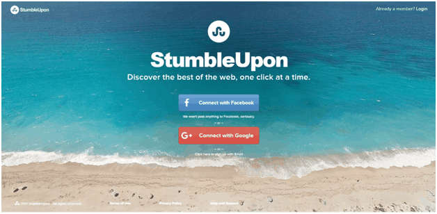How to use stumbleupon